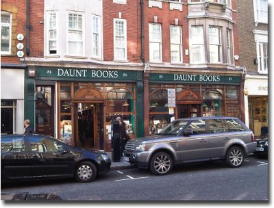 bookshops in London?