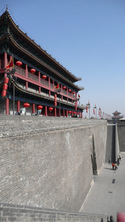 Xi'an city wall 004