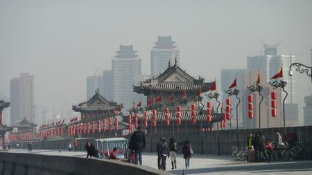 Xi'an city wall 015