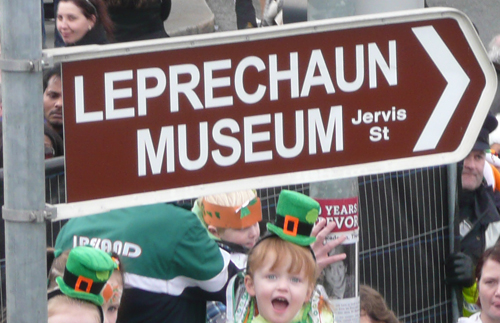 Leprechaun-Museum-sign