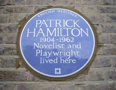 Patrick-hamilton-blue-plaque