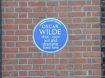 Oscar-Wilde-blue-plaque