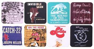 Literary-coaster-set