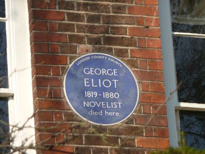 George-eliot-blue-plaque