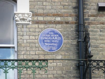 Haggard-blue-plaque