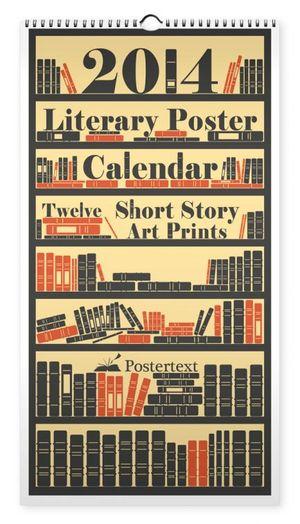 Postertext-calendar