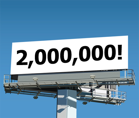 2-million-billboard