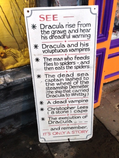 Dracula-experience-sign